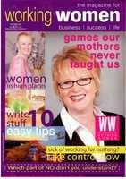 Working Women Magazine cover automn 2007