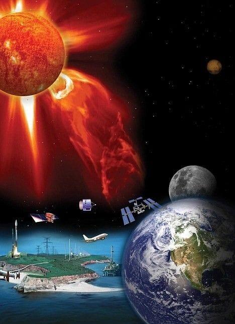 2013 The Sun's Solar Flare Storm