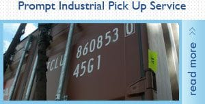 Prompt Industrial Pick Up Service