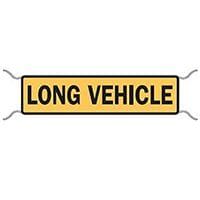 Long Vehicle Premium Tie On Sign