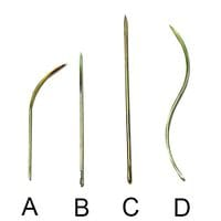 Bainbridge Surgical Needles Straight 102mm 6 pack