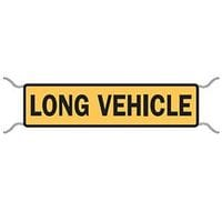 Long Vehicle Tie On Sign (non-premium)