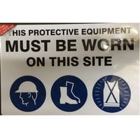 Silvan Sign This Protective Equipment Must Be Worn