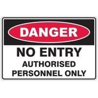 Silvan Sign Danger - No Entry