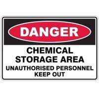 Silvan Sign Danger - Chemical Storage