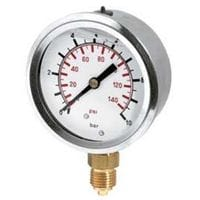 Silvan Selecta Pressure Gauge 0-100 Bar