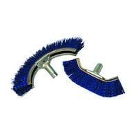 Bainbridge Trough Broom Double Row - Round