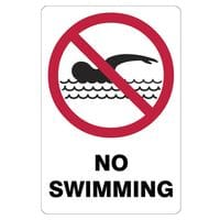 Silvan Sign - No Swimming