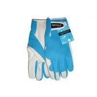 Sprout Goatskin Gloves Aqua