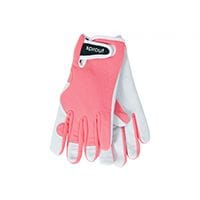 Sprout Goatskin Gloves Coral