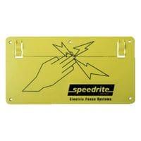 Speedrite Warning Sign