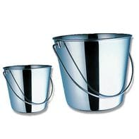 Bainbridge Stainless Steel Bucket - 13.5 Litre