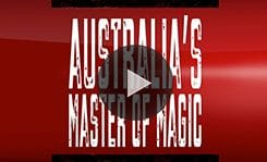 Sydney Magician Adam Dean video