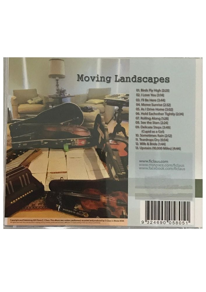 Thumbnail Fi Claus - Moving Landscapes CD