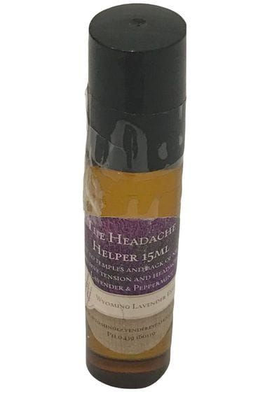 Wyoming Lavender Estate -  Headache Helper Roll On 15ml