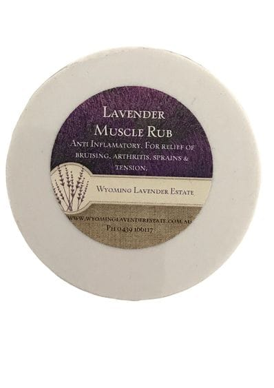 Wyoming Lavender Estate - Lavender Muscle Rub