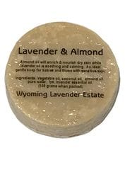 Wyoming Lavender Estate - Lavender & Almond Soap