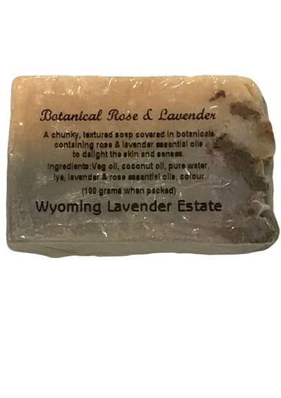 Wyoming Lavender Estate - Botanical Rose & Lavender Soap