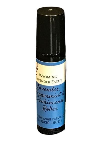 Wyoming Lavender Estate - Pulse Point Roller Lavender, Peppermint & Frankincense 15ml