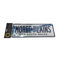 Moree Number Plate