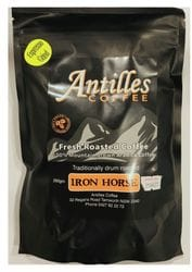 Antilles Coffee- Iron Horse Dark Roasted- Full Bodied Plunger Grind 250g