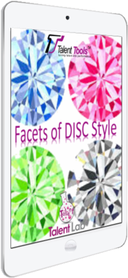 Free Facets of DISC Style eBook at Talent Tools