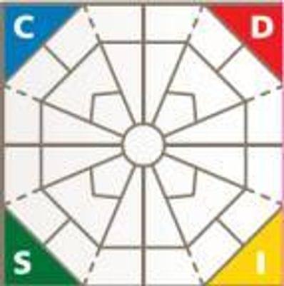Extended DISC Diamond Chart