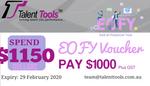 EOFY $1150 Voucher
