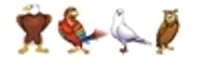 "Take Flight with DISC Desktop Birds 6"""