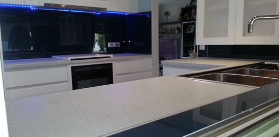 Acrylic Splashbacks,cut to size, shape,coloured or printed By ISPS Innovations