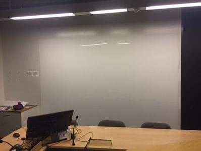 Acrylic Marker White Board 2600 x 1000 x 6mm