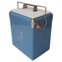 17L Slate Blue Retro Cooler