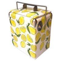 17L Summer Lemons Retro Cooler
