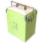 17L Fluro Mint Retro Cooler