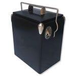 17L Matte Black Retro Cooler - UNBRANDED RANGE