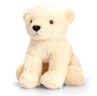 Brave Little Bear Cuddly Polar Bear