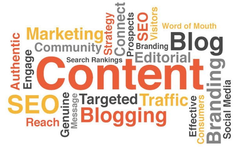 Using content to improve search ranking and drive traffic
