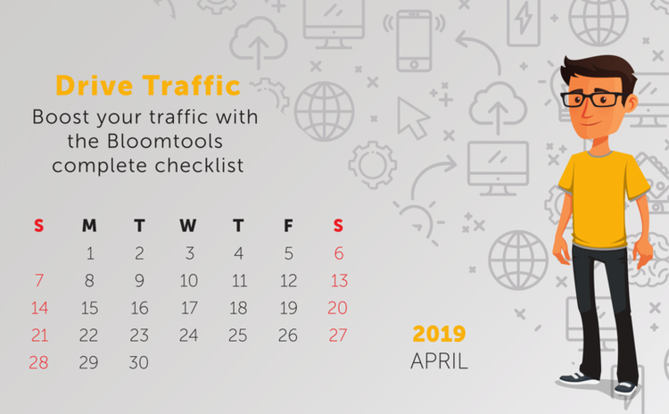 Tip: Drive Traffic - Boost your traffic with the Bloomtools complete checklist
