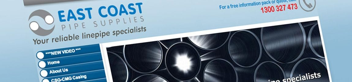 East Coast Pipe Supplies got results immediately from Bloomtools SEO