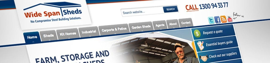 Wide Span Sheds implemented the Bloomtools Database Marketing system