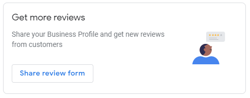 Share your Google My Business review form