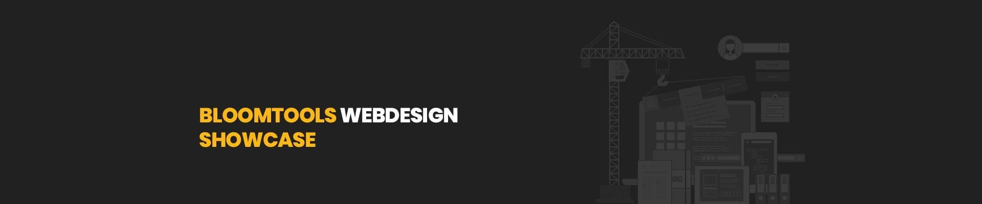 Bloomtools Website Design Show Case