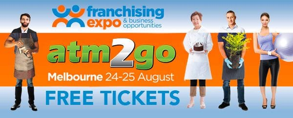 atm2go will be at the Franchising Expo in Melbourne