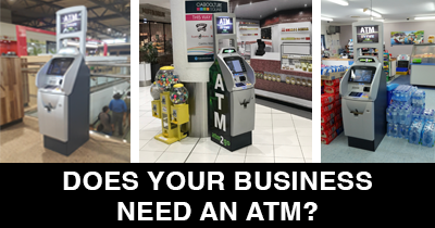 Retail ATMs for businesses