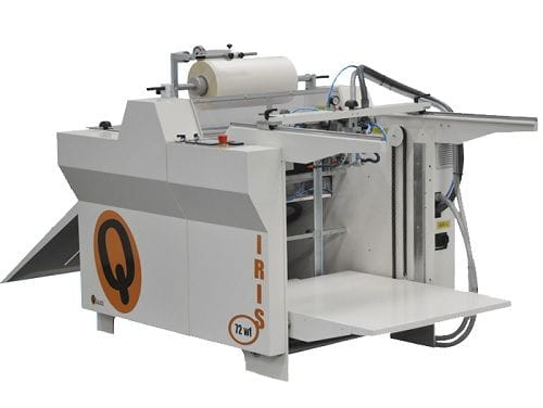QLam Iris fully automatic laminator for sheets up to 720mm X 1020mm
