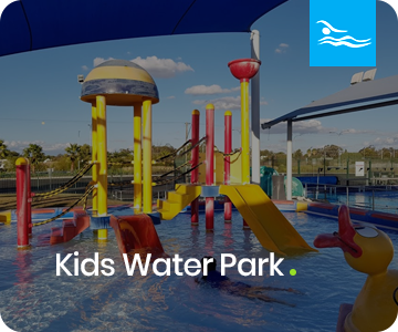 Kids Water park at Moree Artesian Aquatic Centre