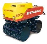 1.5t Padfoot Double Drum Trench Roller