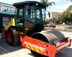7 - 8t Smooth Single Drum Vibrating