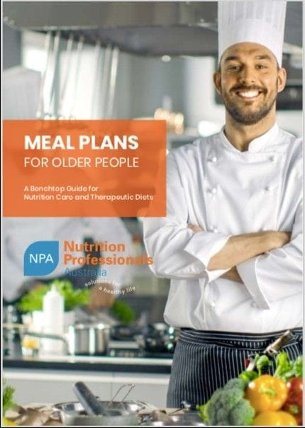 Meal Plans Manual updated for IDDSI
