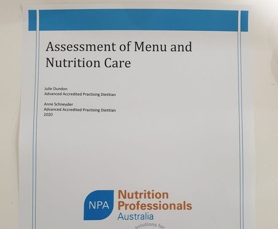 Menu Audits by Nutrition Professionals Australia have undergone a complete facelift!